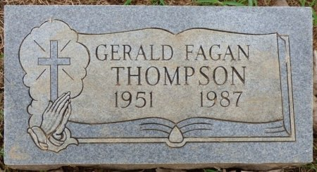 THOMPSON, GERALD FAGAN - Lauderdale County, Alabama | GERALD FAGAN THOMPSON - Alabama Gravestone Photos
