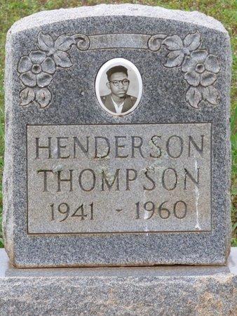 THOMPSON, HENDERSON - Lauderdale County, Alabama   HENDERSON THOMPSON - Alabama Gravestone Photos