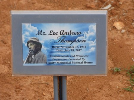 THOMPSON, LEE ANDREW - Lauderdale County, Alabama | LEE ANDREW THOMPSON - Alabama Gravestone Photos