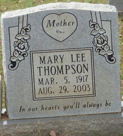 THOMPSON, MARY LEE - Lauderdale County, Alabama | MARY LEE THOMPSON - Alabama Gravestone Photos