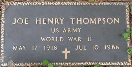 THOMPSON (VETERAN WWII), JOE HENRY - Lauderdale County, Alabama | JOE HENRY THOMPSON (VETERAN WWII) - Alabama Gravestone Photos