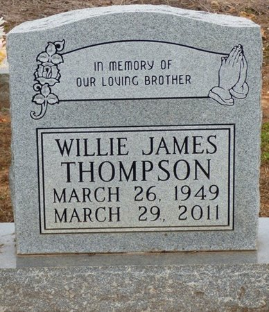 THOMPSON, WILLIE JAMES - Lauderdale County, Alabama   WILLIE JAMES THOMPSON - Alabama Gravestone Photos