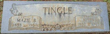 TINGLE, MAZIE B - Lauderdale County, Alabama | MAZIE B TINGLE - Alabama Gravestone Photos