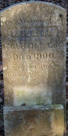 TOLBERT, WILLIAM - Lauderdale County, Alabama | WILLIAM TOLBERT - Alabama Gravestone Photos
