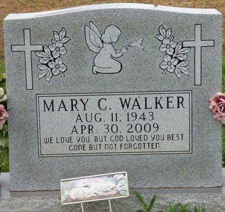 WALKER, MARY C. - Lauderdale County, Alabama | MARY C. WALKER - Alabama Gravestone Photos