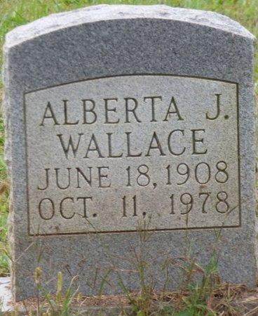 WALLACE, ALBERTA J - Lauderdale County, Alabama | ALBERTA J WALLACE - Alabama Gravestone Photos