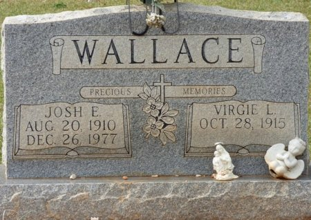 WALLACE, JOSH EDWARD - Lauderdale County, Alabama | JOSH EDWARD WALLACE - Alabama Gravestone Photos