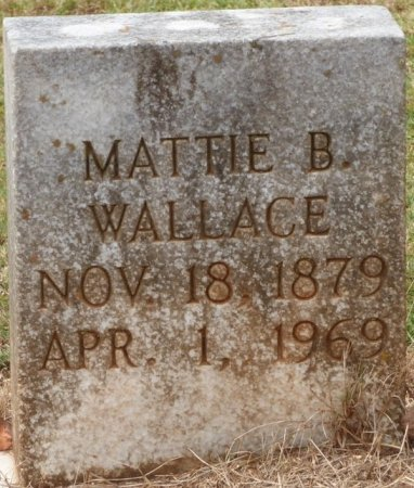WALLACE, MATTIE B - Lauderdale County, Alabama | MATTIE B WALLACE - Alabama Gravestone Photos