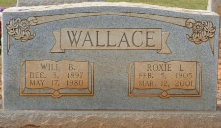 WALLACE, WILL B - Lauderdale County, Alabama | WILL B WALLACE - Alabama Gravestone Photos