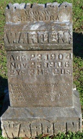 WARDEN, WILMA - Lauderdale County, Alabama | WILMA WARDEN - Alabama Gravestone Photos