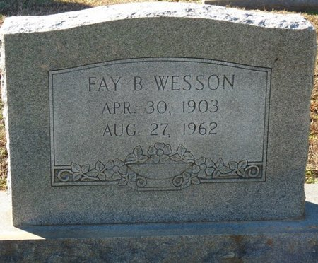 WESSON, FAY BURTON - Lauderdale County, Alabama | FAY BURTON WESSON - Alabama Gravestone Photos