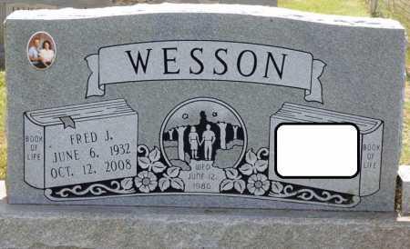 WESSON, FRED J - Lauderdale County, Alabama | FRED J WESSON - Alabama Gravestone Photos