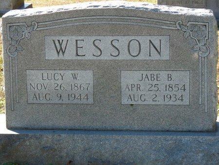 WESSON, LUCY ELLA - Lauderdale County, Alabama | LUCY ELLA WESSON - Alabama Gravestone Photos