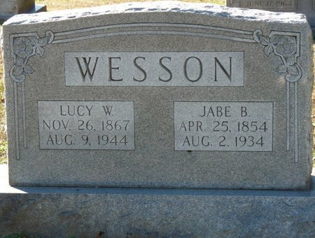 WRIGHT WESSON, LUCY ELLA - Lauderdale County, Alabama   LUCY ELLA WRIGHT WESSON - Alabama Gravestone Photos