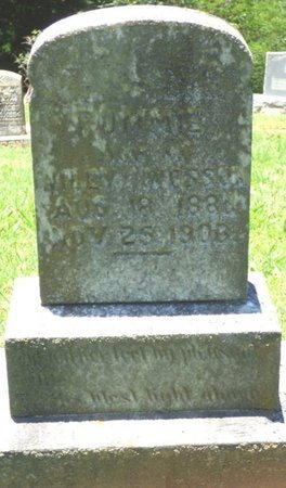 "WESSON, ROMELIA ""ROMMIE"" - Lauderdale County, Alabama 