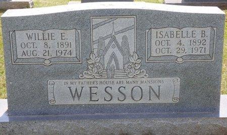 WESSON, WILLIE E - Lauderdale County, Alabama | WILLIE E WESSON - Alabama Gravestone Photos