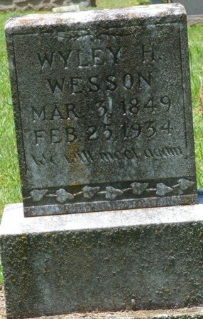 WESSON, WYLEY HARRISON - Lauderdale County, Alabama | WYLEY HARRISON WESSON - Alabama Gravestone Photos