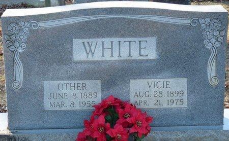 WHITE, VICIE - Lauderdale County, Alabama   VICIE WHITE - Alabama Gravestone Photos