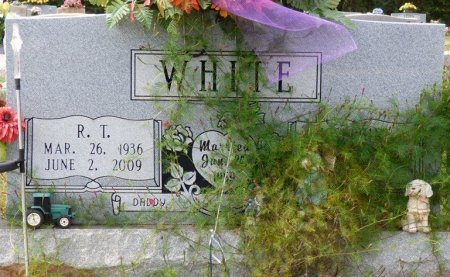 """WHITE, RUSSELL THOMAS """"R.T."""" - Lauderdale County, Alabama 