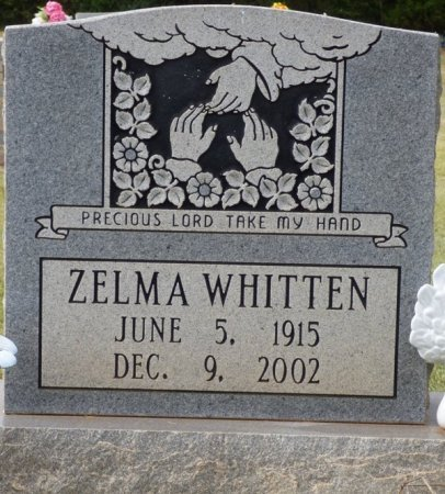 WHITTEN, ZELMA ANNIE - Lauderdale County, Alabama | ZELMA ANNIE WHITTEN - Alabama Gravestone Photos
