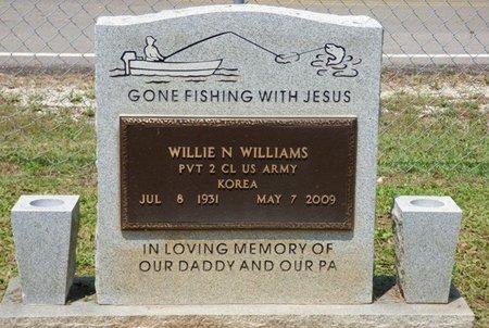 WILLIAMS (VETERAN KOR), WILLIE N - Lauderdale County, Alabama | WILLIE N WILLIAMS (VETERAN KOR) - Alabama Gravestone Photos