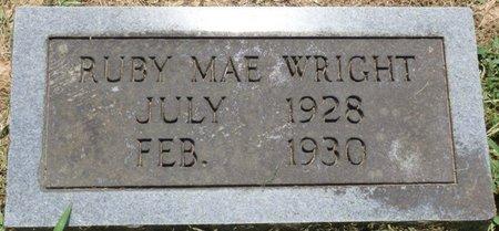 WRIGHT, RUBY MAE - Lauderdale County, Alabama | RUBY MAE WRIGHT - Alabama Gravestone Photos