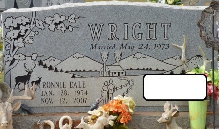 WRIGHT, RONNIE DALE - Lauderdale County, Alabama   RONNIE DALE WRIGHT - Alabama Gravestone Photos