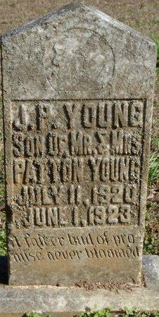 YOUNG, J.P. - Lauderdale County, Alabama | J.P. YOUNG - Alabama Gravestone Photos