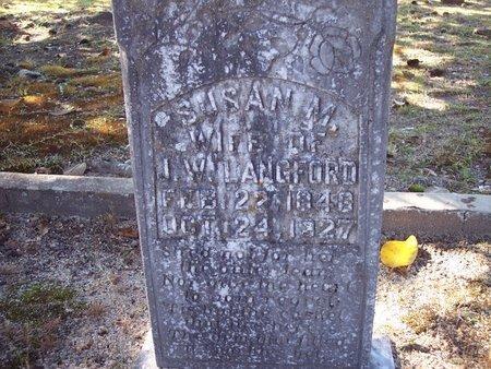 LANGFORD, SUSAN - Macon County, Alabama   SUSAN LANGFORD - Alabama Gravestone Photos