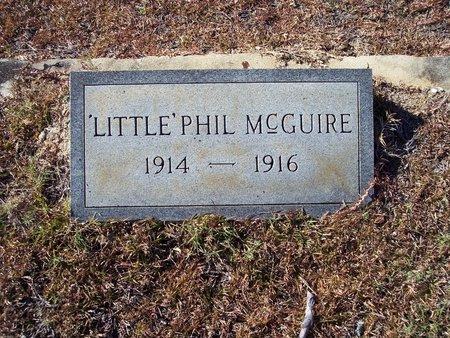 MCGUIRE, 'LITTLE' PHIL - Macon County, Alabama | 'LITTLE' PHIL MCGUIRE - Alabama Gravestone Photos