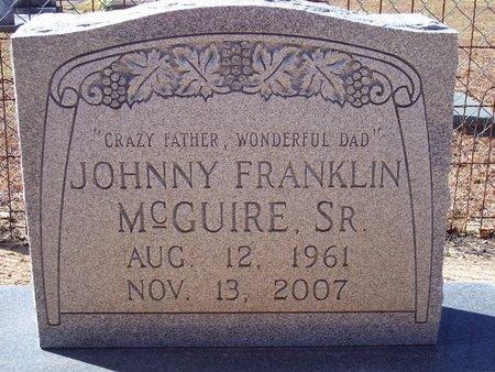 MCGUIRE, JOHNNY FRANKLIN, SR. - Macon County, Alabama | JOHNNY FRANKLIN, SR. MCGUIRE - Alabama Gravestone Photos