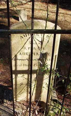 ABERNATHY, AUBREY B - Madison County, Alabama | AUBREY B ABERNATHY - Alabama Gravestone Photos
