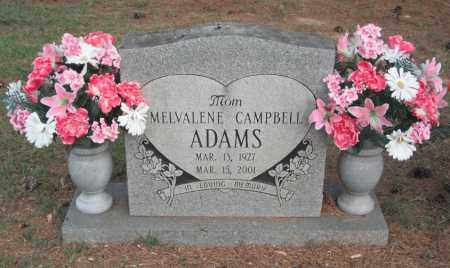 "CAMPBELL ADAMS, MELVALENE ""GANGI"" - Madison County, Alabama 