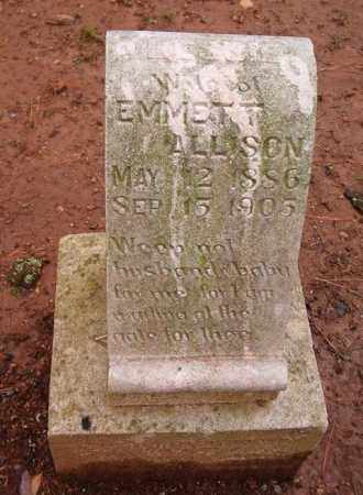 ALLISON, BESSIE - Madison County, Alabama | BESSIE ALLISON - Alabama Gravestone Photos