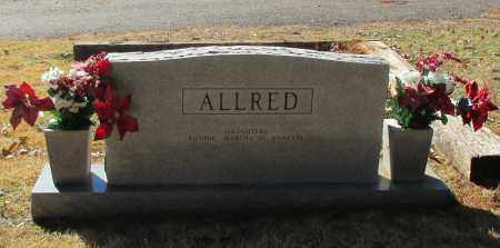 ALLRED (BACK), HOBERT JAMES - Madison County, Alabama | HOBERT JAMES ALLRED (BACK) - Alabama Gravestone Photos