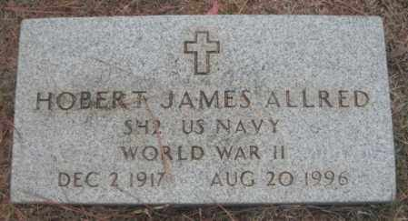 ALLRED (VETERAN WWII), HOBERT JAMES - Madison County, Alabama | HOBERT JAMES ALLRED (VETERAN WWII) - Alabama Gravestone Photos