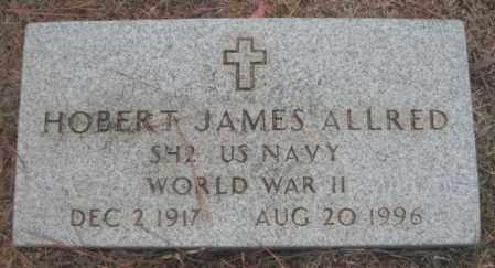 ALLRED (VETERAN WWII), HOBERT JAMES - Madison County, Alabama | HOBERT JAMES ALLRED (VETERAN WWII) - Alabama Gravestone Photos