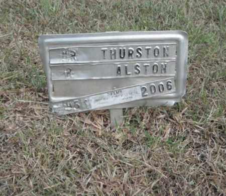 ALSTON, THURSTON - Madison County, Alabama | THURSTON ALSTON - Alabama Gravestone Photos