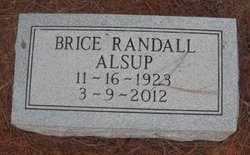 ALSUP, BRICE RANDALL - Madison County, Alabama | BRICE RANDALL ALSUP - Alabama Gravestone Photos