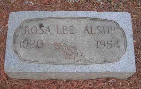 ALSUP, ROSA LEE - Madison County, Alabama   ROSA LEE ALSUP - Alabama Gravestone Photos