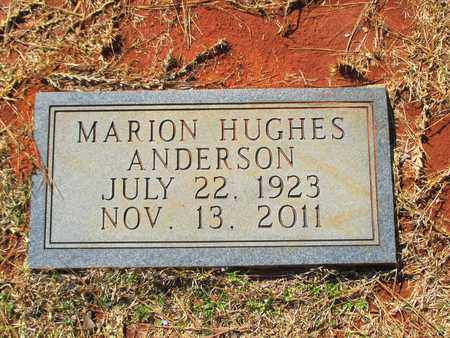 HUGHES ANDERSON, MARION KATHRYN - Madison County, Alabama | MARION KATHRYN HUGHES ANDERSON - Alabama Gravestone Photos
