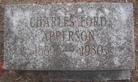 APPERSON, CHARLES FORD - Madison County, Alabama | CHARLES FORD APPERSON - Alabama Gravestone Photos