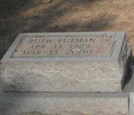 PUTMAN APPERSON (CLOSE UP), RUTH - Madison County, Alabama | RUTH PUTMAN APPERSON (CLOSE UP) - Alabama Gravestone Photos