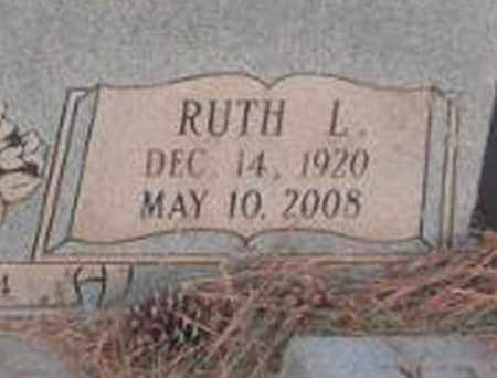 ARNOLD (CLOSE UP), RUTH L - Madison County, Alabama | RUTH L ARNOLD (CLOSE UP) - Alabama Gravestone Photos
