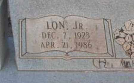 ARNOLD, JR (CLOSE UP), LON - Madison County, Alabama   LON ARNOLD, JR (CLOSE UP) - Alabama Gravestone Photos