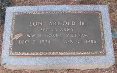 ARNOLD, JR (VETERAN 3 WARS), LON - Madison County, Alabama | LON ARNOLD, JR (VETERAN 3 WARS) - Alabama Gravestone Photos