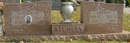ATCHLEY, CHARLES - Madison County, Alabama   CHARLES ATCHLEY - Alabama Gravestone Photos
