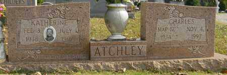ATCHLEY, CHARLES - Madison County, Alabama | CHARLES ATCHLEY - Alabama Gravestone Photos