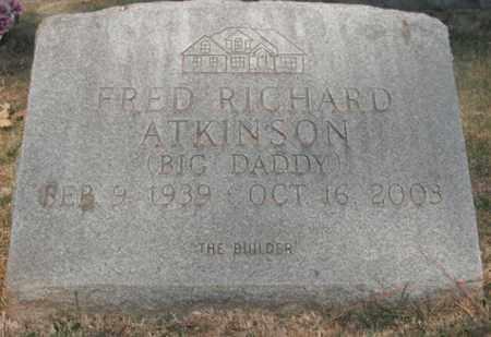 ATKINSON, FRED RICHARD - Madison County, Alabama   FRED RICHARD ATKINSON - Alabama Gravestone Photos