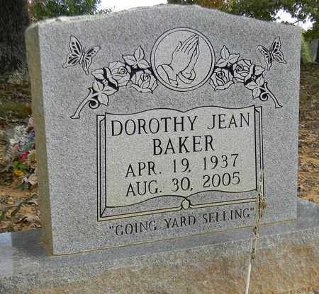 BAKER, DOROTHY JEAN - Madison County, Alabama | DOROTHY JEAN BAKER - Alabama Gravestone Photos
